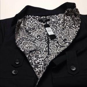 Black with white inside Talbots jacket size 12 W